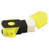 "Sharpener/Eraser Combo - 1 Hole(s) - 2.5"" Height x 0.5"" Width - Assorted"