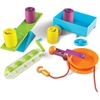Learning Resources STEM - Simple Machines Activity Set - Skill Learning: Mathematics, Science, Physics, Problem Solving