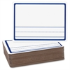 "Flipside Story Dry Erase Board - 9"" (0.8 ft) Width x 12"" (1 ft) Height - White Surface - Rectangle - 24 / Pack"