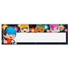 "Block-stars! Children's Nameplates - Learning Theme/Subject - Colorful Spotlights, BlockStars - 2.88"" Height x 9.50"" Width - Multicolor - 36 / Pack"