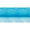 "Under The Sea Design Bulletin Board Papers - 48"" x 12 ft - 1 Roll - Blue"