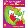 Trend Fun with Mazes Wipe-off Book Learning Printed Book - Book - 28 Pages
