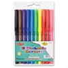 Fine Tip Washable Markers - Fine Point Type - Assorted - 10 / Set