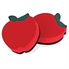 Magnetic Apple Whiteboard Eraser - Magnetic - Red - 12 / Pack