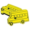 Bus-shaped Magnetic Board Eraser - Magnetic - Yellow - 12 / Pack