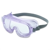 Uvex Classic Safety Goggles - Eye, Particulate, Dust, Mist, Chemical, Splash, Biohazard, Impact Protection - Polycarbonate Lens, Polyvinyl Chloride (PVC) Body, Neoprene Headband - Clear, Clear - 1 Eac