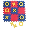ChenilleKraft Tic-Tac-Toe Mat - Learning - Assorted - Foam