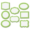 "Lime/Dots Magnetic Frame - Learning Theme/Subject - 8 Frame - Magnetic - Lime/Dots - Durable, Damage Resistant - 0.10"" Height x 4"" Width x 4.50"" Depth - Multicolor - 8 / Pack"