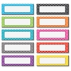 "Teacher Created Resources Chevron Labels Magnet Accents - Learning Theme/Subject - 20 (Label) Shape - Magnetic - Chevron - Durable, Damage Resistant - 0.10"" Height x 4.50"" Width x 1.50"" Depth - Multic"
