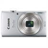 "Canon PowerShot 180 20 Megapixel Compact Camera - Silver - 2.7"" LCD - 16:9 - 8x Optical Zoom - 4x - Optical (IS) - TTL - 5152 x 3864 Image - 1280 x 720 Video - PictBridge - HD Movie Mode - Wireless LA"