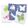 "Nature Stencils - Nature - 7.5"" x 7.5"" - Blueberry"
