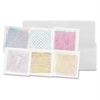 "Optical Illusion Rubbing Plates - 7"" x 7"" - 6 / Pack - Clear - Plastic"