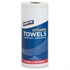 "Genuine Joe 85-sheet Perforated Roll Towels - 2 Ply - 9"" x 11"" - 85 Sheets/Roll - White - Paper - Perforated, Chlorine-free - For Kitchen - 30 / Carton"