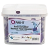 Big 3 Packaging Pak-It Auto Scrub Neutral Floor Cleaner - Concentrate - 0.79 oz (0.05 lb) - Ocean Fresh Scent - 50 / Each - Purple