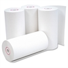 "Business Source Receipt Paper - 4.30"" x 127 ft - 0% Recycled Content - 50 / Carton - White"