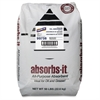 Genuine Joe Absorbs-it All-purpose Absorbent - 800 oz (50 lb) - 1 Bag - Gray