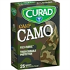 "Curad Green Camp Camo Sterile Bandages - 0.75"" x 3"" - 25/Box - Camo Green - Fabric"
