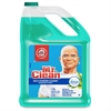 Mr. Clean Multipurpose Cleaner with Febreze - Liquid - 1 gal (128 fl oz) - Meadows & Rain ScentBottle - 4 / Carton - Green