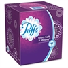 "Puffs Ultra Soft/Strong Tissue - 2 Ply - 8.20"" x 8.40"" - White - Strong, Absorbent, Soft - For Face, Skin - 56 Sheets Per Box - 24 / Carton"