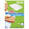 "Magic Eraser Bath Scrubber - 4.4"" Overall Length - 2/Box - 32 / Carton - White"