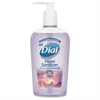 Dial Sheer Blossoms Hand Sanitizer - Sheer Blossoms Scent - 7.5 fl oz (221.8 mL) - Pump Bottle Dispenser - Kill Germs - Hand - Purple - Anti-bacterial, Moisturizing - 12 / Carton