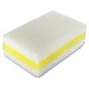 Genuine Joe Chemical-free Sponge - 30/Carton - Cellulose - White, Yellow