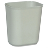 "Rubbermaid Commercial 14qt. Fire Resistant Wastebasket - 3.50 gal Capacity - Chip Resistant, Dent Resistant, Rust Resistant - 12.3"" Height x 11.1"" Width x 8.3"" Depth - Fiberglass, Thermoset Polyester"