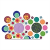 "Paper Circle Popz - 1500 Piece(s) - 2"" - 1500 / Pack - Assorted - Paper"