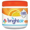 Bright Air Super Odor Eliminator Air Freshener - 14 fl oz (0.4 quart) - Fresh Lemon, Mandarin Orange - 60 Day - 6 / Carton
