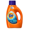 Tide ColdWater Laundry Detergent - Liquid - 0.36 gal (46 fl oz) - Fresh Scent - 6 / Carton - Orange