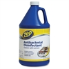 Zep Commercial Lemon Antibacterial Disinfectant Cleaner - Ready-To-Use - 1 gal (128 fl oz) - 4 / Carton - Clear