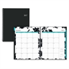 Weekly/Monthly Barcelona Planner - Julian - Weekly, Monthly, Daily - 1 Year - January till December - 1 Month, 1 Week Double Page Layout - Twin Wire - Multi-colored - Tabbed, Writable Surface