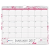 "Blue Sky BCA Alexandra Wall Calendar - Julian - Monthly, Daily - 1 Year - January till December - 1 Month Single Page Layout - 15"" x 12"" - Wire Bound - Wall Mountable - Multicolor - Writable Surface,"