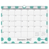"Blue Sky Penelope Wall Calendar - Julian - Monthly, Daily - 1 Year - January till December - 1 Month Single Page Layout - 15"" x 12"" - Wire Bound - Wall Mountable - Multicolor - Writable Surface, Notes"