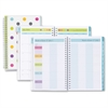 Teacher Dots Clear Cover Planner - Academic - Weekly, Monthly - 1 Year - July 2016 till June 2017 - 2 Week, 2 Month Double Page Layout - Wire Bound - Aqua - Multi-colored - Tabbed, Writable S