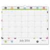 "Today's Teacher Dots Academic Year 16/17 Monthly 15 x 12 Wall Calendar - Academic - Julian - Monthly, Daily - 1 Year - July 2016 till June 2017 - 1 Month Single Page Layout - 15"" x 12"" - Wire"