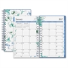 Blue Sky Lindley Frosted Pocket Planner - Personal - Monthly, Weekly, Daily - 1 Year - January till December - 2 Month, 2 Week Double Page Layout - Twin Wire - Frosted, Multicolor - Tabbed, Writable S