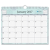 "Rue Du Flore Wall Calendar - Julian - Monthly - 1 Year - January till December - 1 Month Single Page Layout - 8.75"" x 11"" - Wire Bound - Wall Mountable - Multicolor - Writable Surface, Notes"