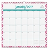 "Blue Sky Lucy Wall Calendar - Julian - Daily, Monthly - 1 Year - January till December - 1 Month Single Page Layout - 12"" x 12"" - Wire Bound - Wall Mountable - Multicolor - Writable Surface, Notes Are"