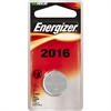 Energizer 2016 Keyless Entry Battery - CR2016 - Lithium (Li) - 3 V DC - 72 / Carton