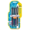 Paper Mate InkJoy 700 RT Ballpoint Pens - 1 mm Point Size - Black - Assorted Barrel - 4 / Pack