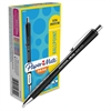 InkJoy 700 RT Ballpoint Pens - 1 mm Point Size - Black - Black Barrel - 1 Dozen