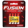 Fusion Advanced Alkaline AAA Batteries - AAA - Alkaline - 240 / Carton