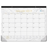 Blue Sky Carrera Desk Pad - Julian - Monthly, Daily - 1 Year - January till December - 1 Month Single Page Layout - Desk Pad - Multicolor - Writable Surface, Notes Area, Appointment Schedule, Referenc
