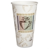 Dixie PerfecTouch Coffee Haze Hot Cups - 25 - 20 fl oz - 500 / Carton - Multi - Paper - Coffee, Hot Drink