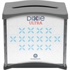 "Dixie Ultra&reg Black Tabletop Interfold Napkin Dispenser - Tall Fold Dispenser - 275 x Napkin - 5.9"" Height x 7.5"" Width x 6.6"" Depth - Black, Gray - See Through Window, Easy-to-load, Refillable"