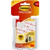 Adhesive Assortment Strips - Foam - Reusable, Removable, Residue-free, Stain Resistant - 16 / Pack - White