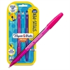 Paper Mate InkJoy 2-in-1 Stylus-Pen - Rubber - Assorted - Tablet Device Supported