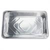 Full-size Disposable Aluminum Pan - 8.8 quart Pan - Aluminum - Cooking, Serving - Disposable - Silver - 50 Piece(s) / Carton