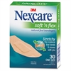 Nexcare Active Waterproof Bandages - Assorted Sizes - 30/Box - Tan - Fabric